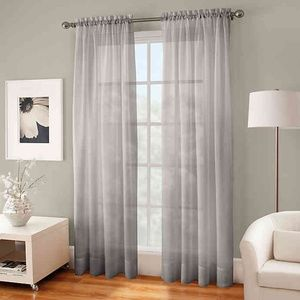 Crushed Voile Sheer